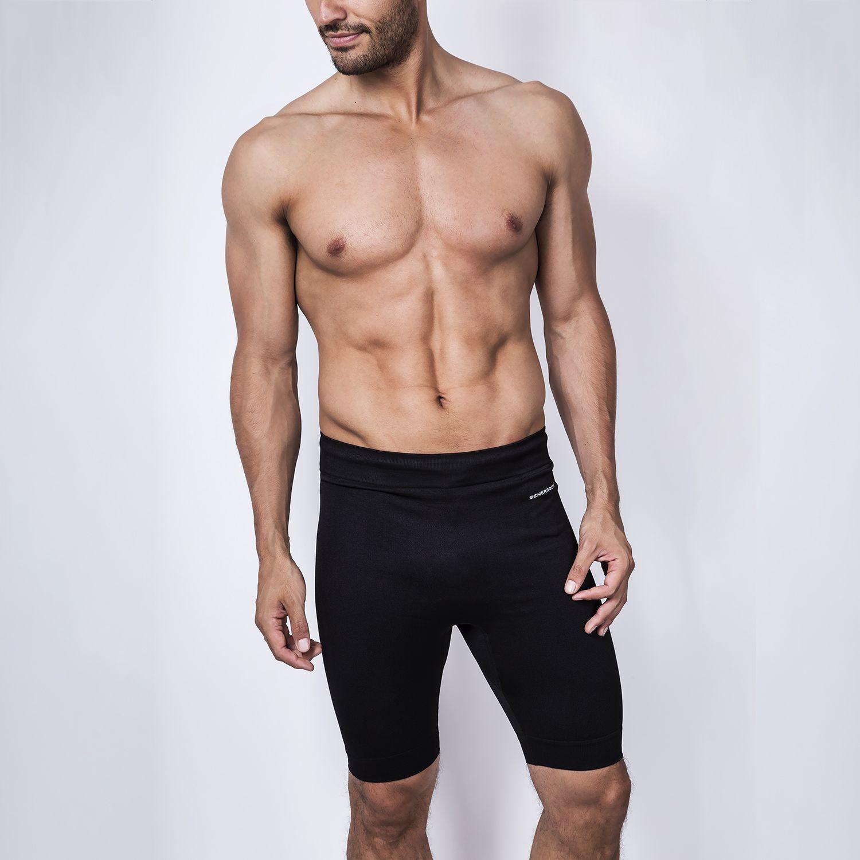 ENERSOCKS Boxer Compresión Deportivo Neg Negro Shorts deportivos