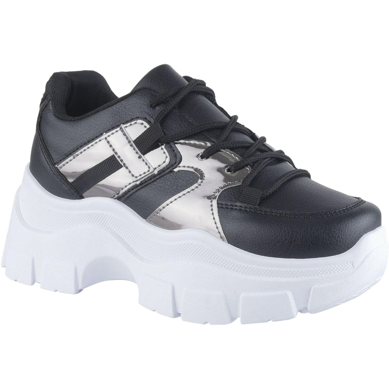 Platanitos Z 2103 Negro Zapatillas de moda