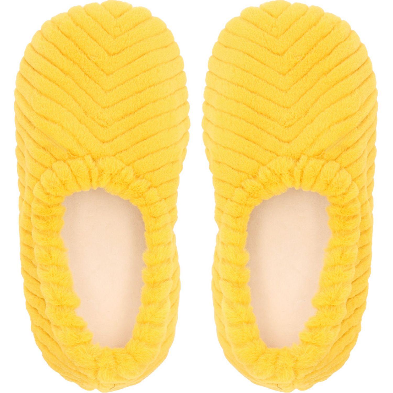 Casaideas pantufla fur rabbit amarillo Amarillo Pantuflas