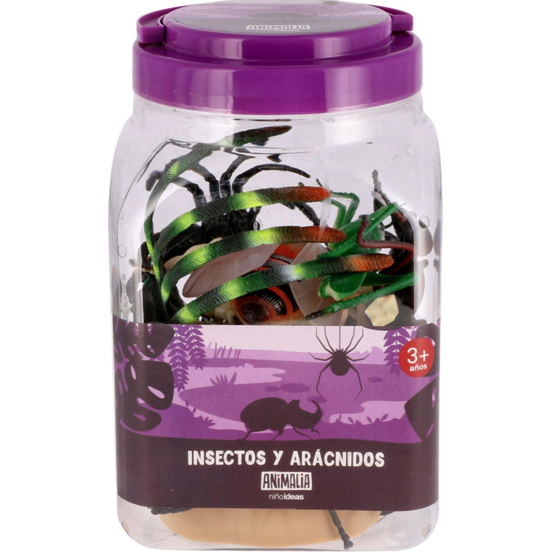 Casaideas Set Insectos y Aracnidos de Plastico MULTICOLOR Animales de peluche y los osos de peluche