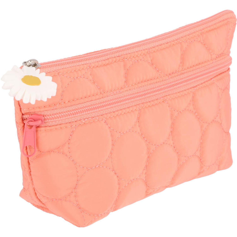 Casaideas cosmetiquero s quilt Coral Bolsa de cosméticos