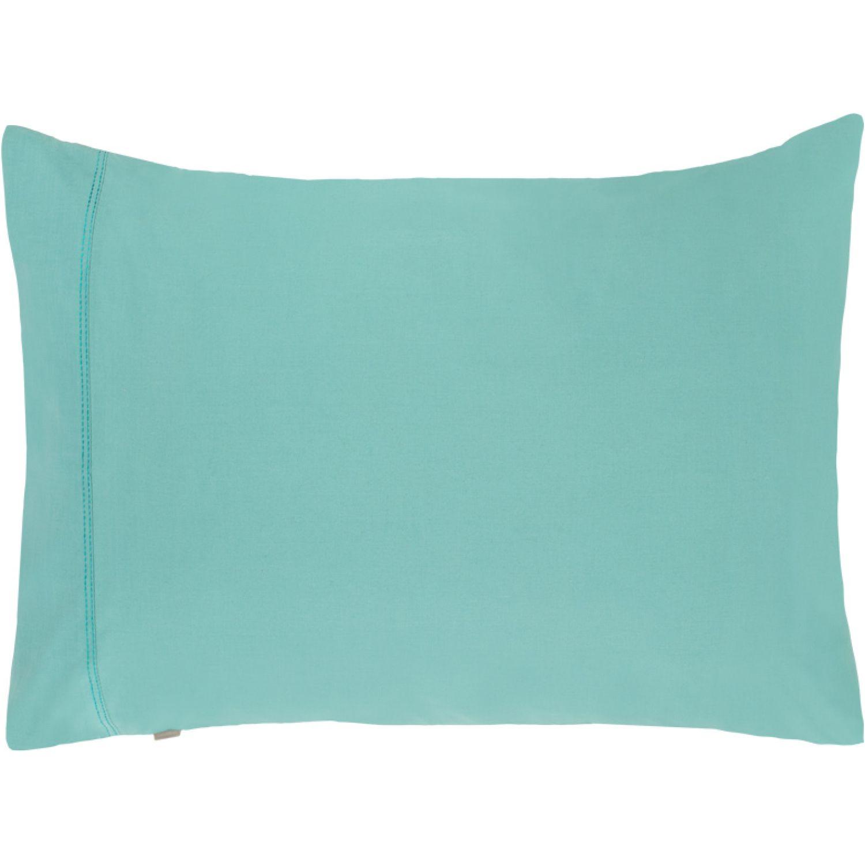 Casaideas Funda Concepto Algodón 50x70 Verde Verde almohadas de la cama
