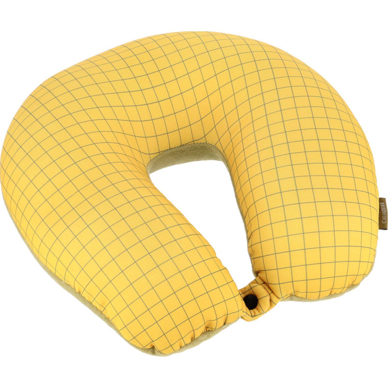 Casaideas Cojin Collarin Micro Pelot Amarillo Amarillo Cuello y cervicales almohadas