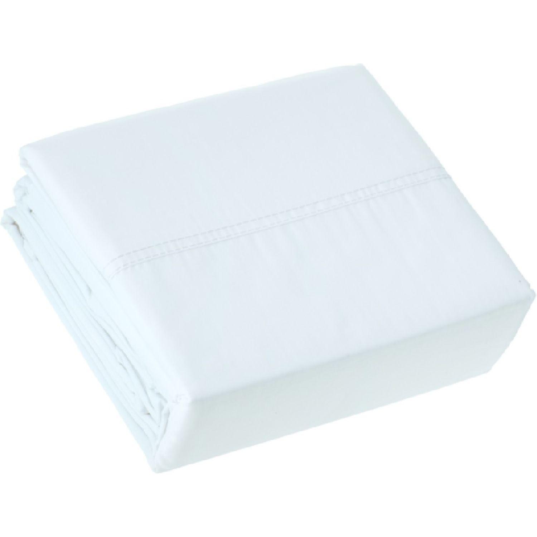 Casaideas 1.5plz juego de sabanas concept blanco Blanco Sábanas ajustables