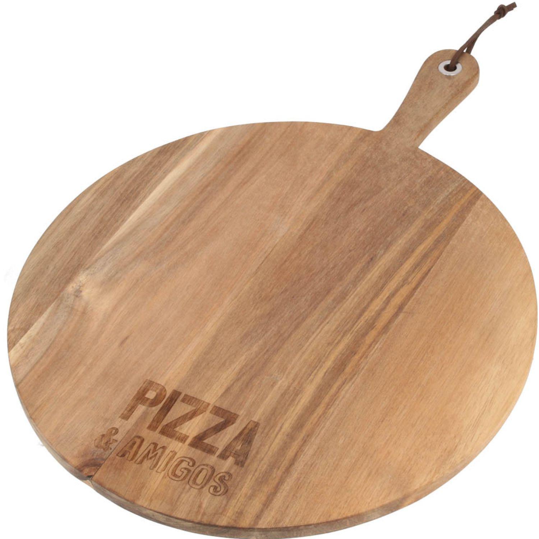 Casaideas tabla de maderac/mango para pizza MADERA Tablas de cortar