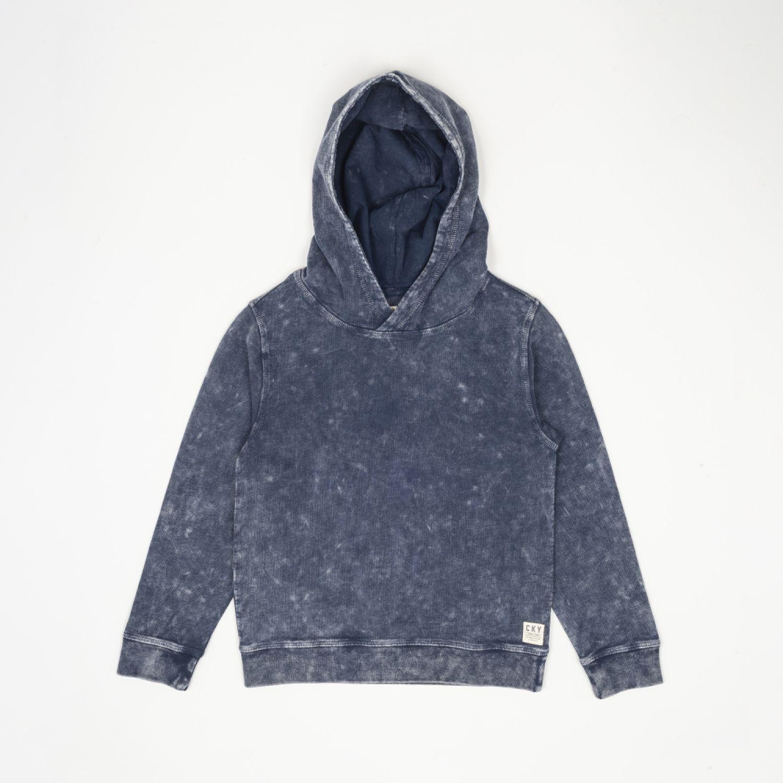 Colloky Poleron Lavado Desgastado Plpo1750 Denim Hoodies y sudaderas de moda