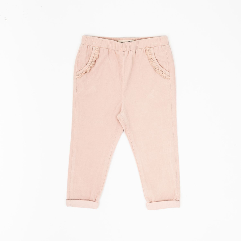 Colloky Pantalon Cotelé Ptco0230 Rosado Pantalones