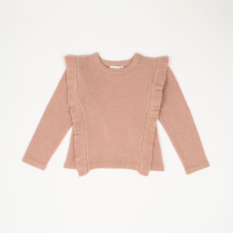 Colloky Sweater Vuelos Cuadrado Swla1030 Rosado Suéteres