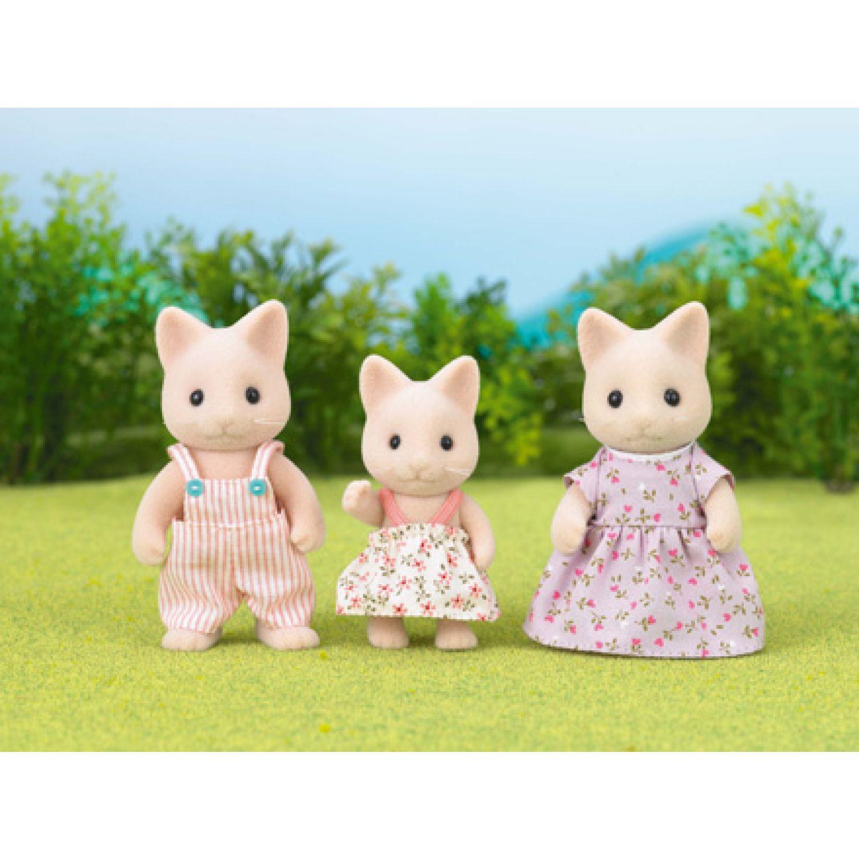 SYLVANIAN FAMILIES Familia Gato MULTICOLOR muñecas