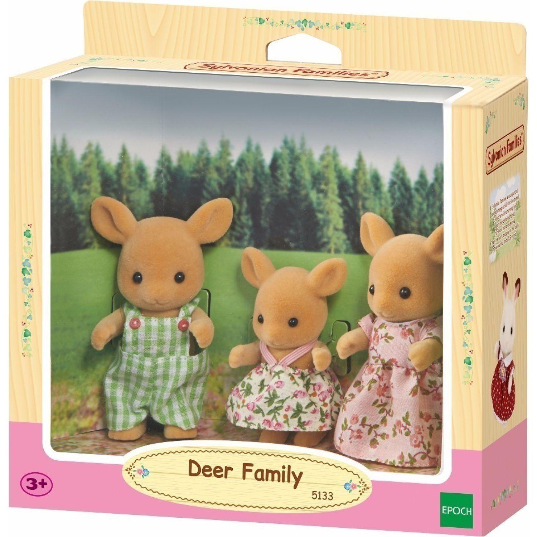 SYLVANIAN FAMILIES Familia Venado MULTICOLOR muñecas