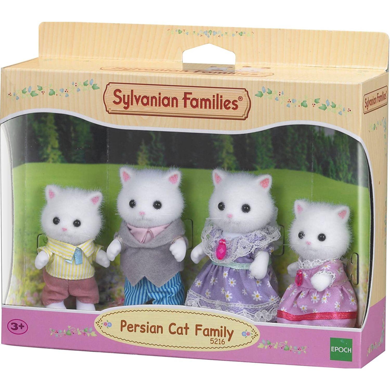 SYLVANIAN FAMILIES Familia Gato Persa MULTICOLOR muñecas