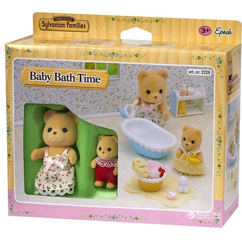 SYLVANIAN FAMILIES Hora Del Baño Para El Bebé MULTICOLOR Muñecas