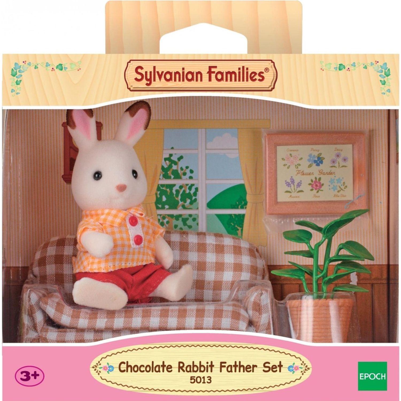 SYLVANIAN FAMILIES Conejo Chocolate Set De Papá MULTICOLOR Muñecas
