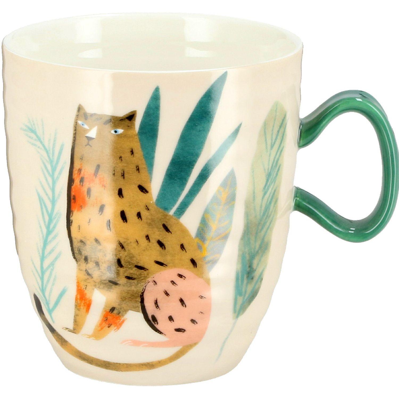 Casaideas MUG DECAL 450ML MULTICOLOR Las tazas de café y tazas
