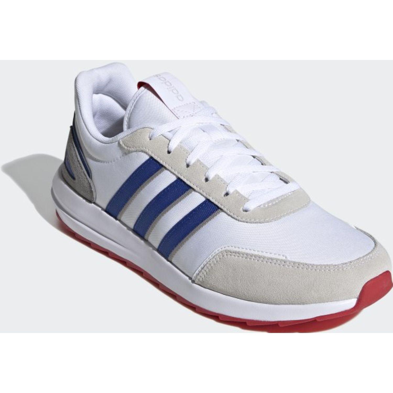 Adidas RETRORUNNER Blanco / azul Running en pista