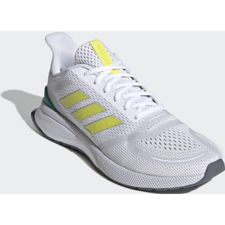 Adidas NOVAFVSE Blanco / amarillo Running en pista