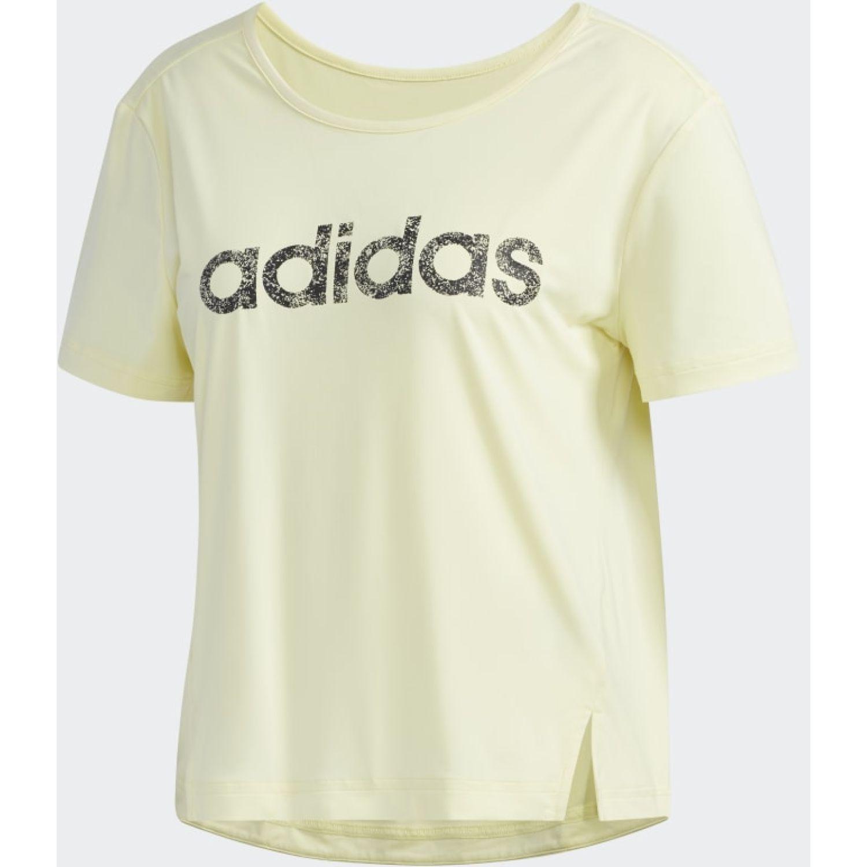 Adidas W WMN TEE Amarillo Polos
