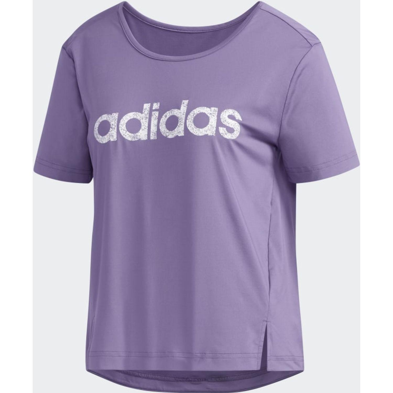 Adidas W WMN TEE Lila Polos