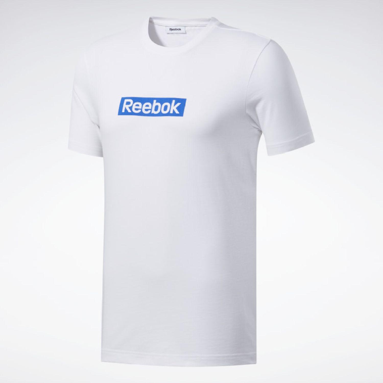 Reebok Te Linear Logo Ss Tee Blanco Camisetas y polos deportivos