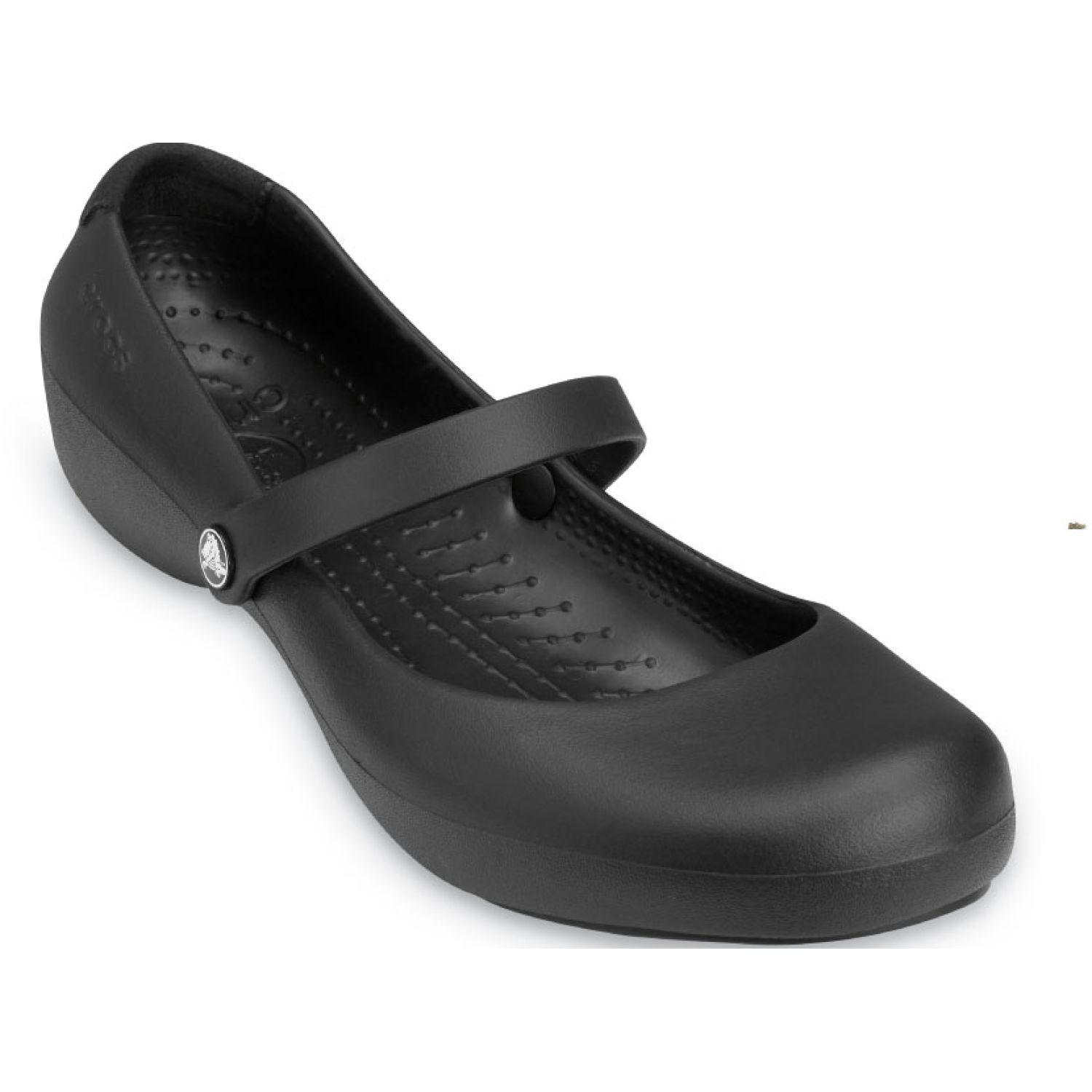 CROCS Women'S Alice Work Flat Negro Flats