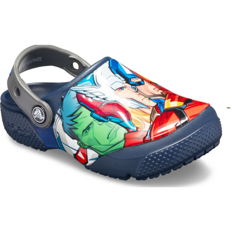 CROCS Kids' Crocs Fun Lab Marvel Multi Clog Navy Sandalias