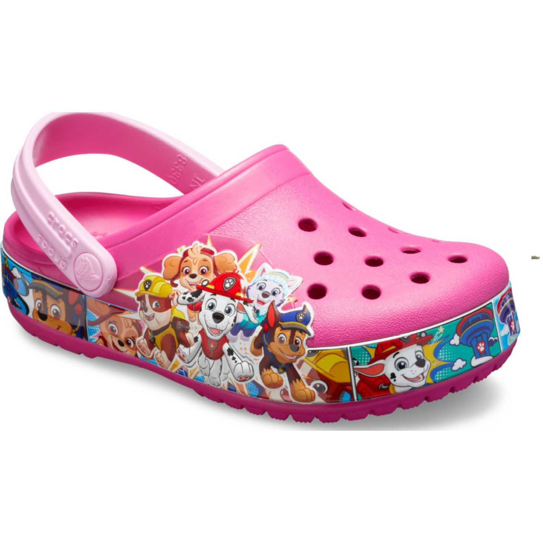CROCS Kids' Crocs Fun Lab Paw Patrol Band Clog Fucsia Sandalias