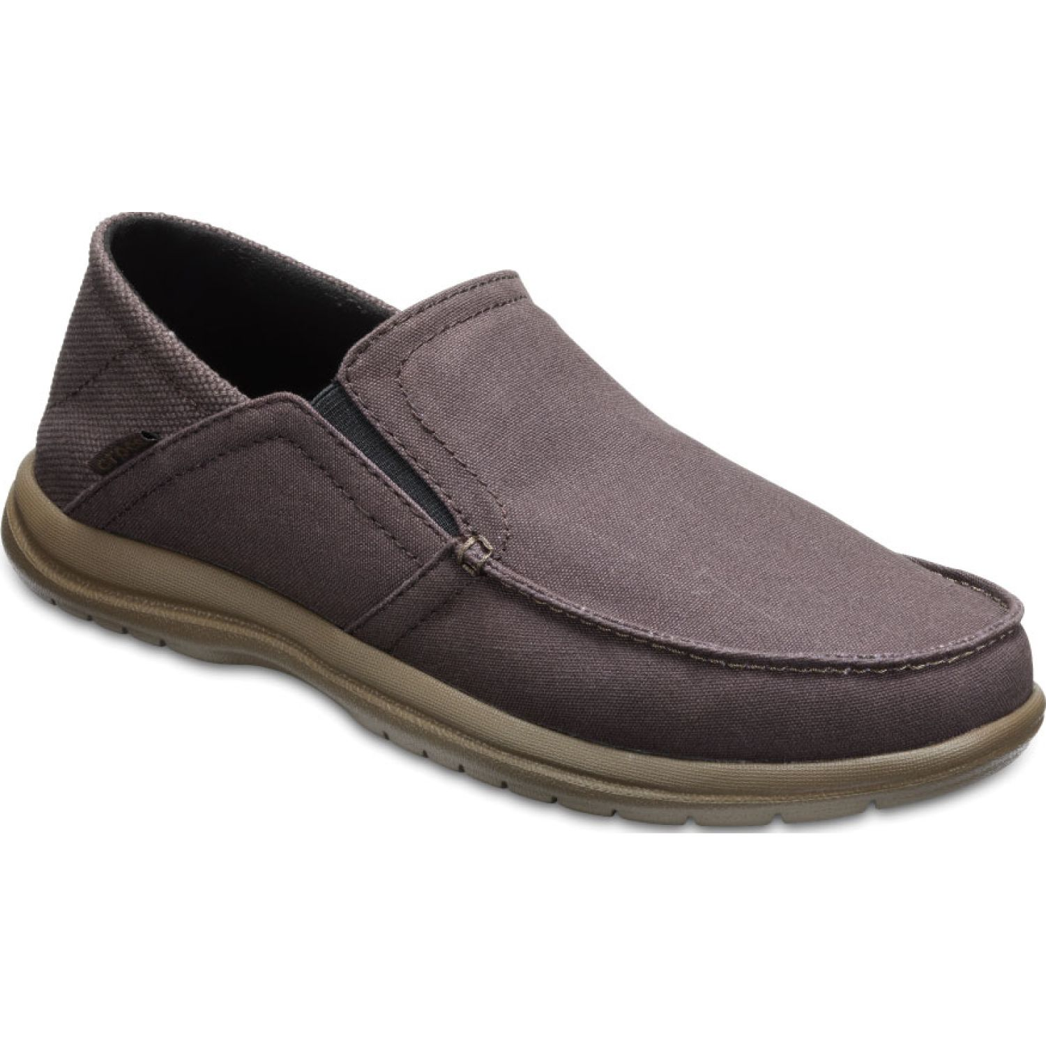 CROCS MEN'S SANTA CRUZ CONVERTIBLE SLIP-ON Café Mocasines y Slip-Ons