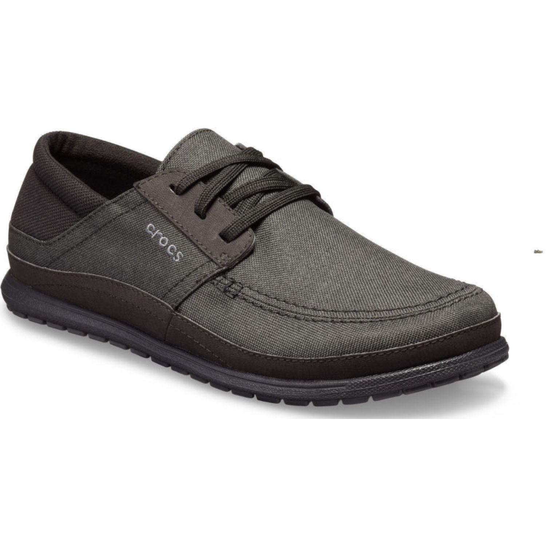 CROCS Men'S Santa Cruz Playa Lace-Up Negro / negro Zapatillas de moda