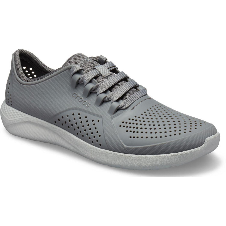 CROCS Men'S Literide Pacer Plomo Zapatillas de moda