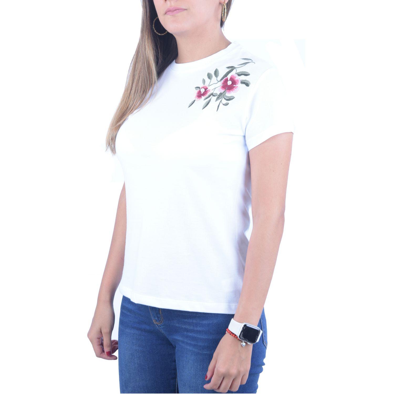 Andoas Clothing Polo Emilia Blanco Polos