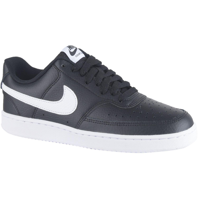 Nike Wmns Nike Court Vision Lo Negro / blanco Para caminar