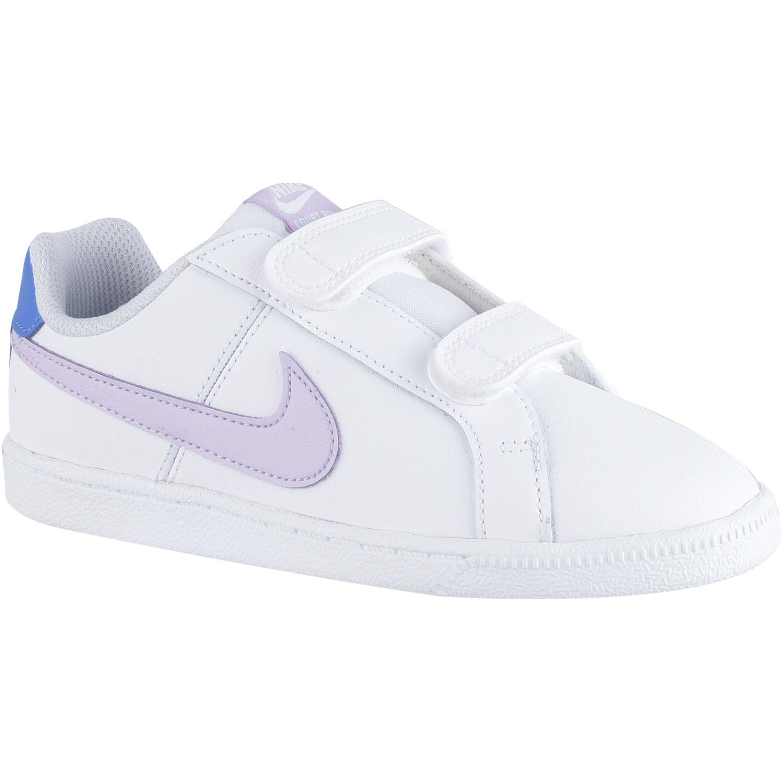 Nike nike court royale bpv Blanco / rosado Chicas