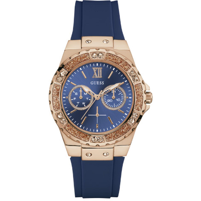 GUESS Reloj Guess W1053l1 Azul Relojes de Pulsera