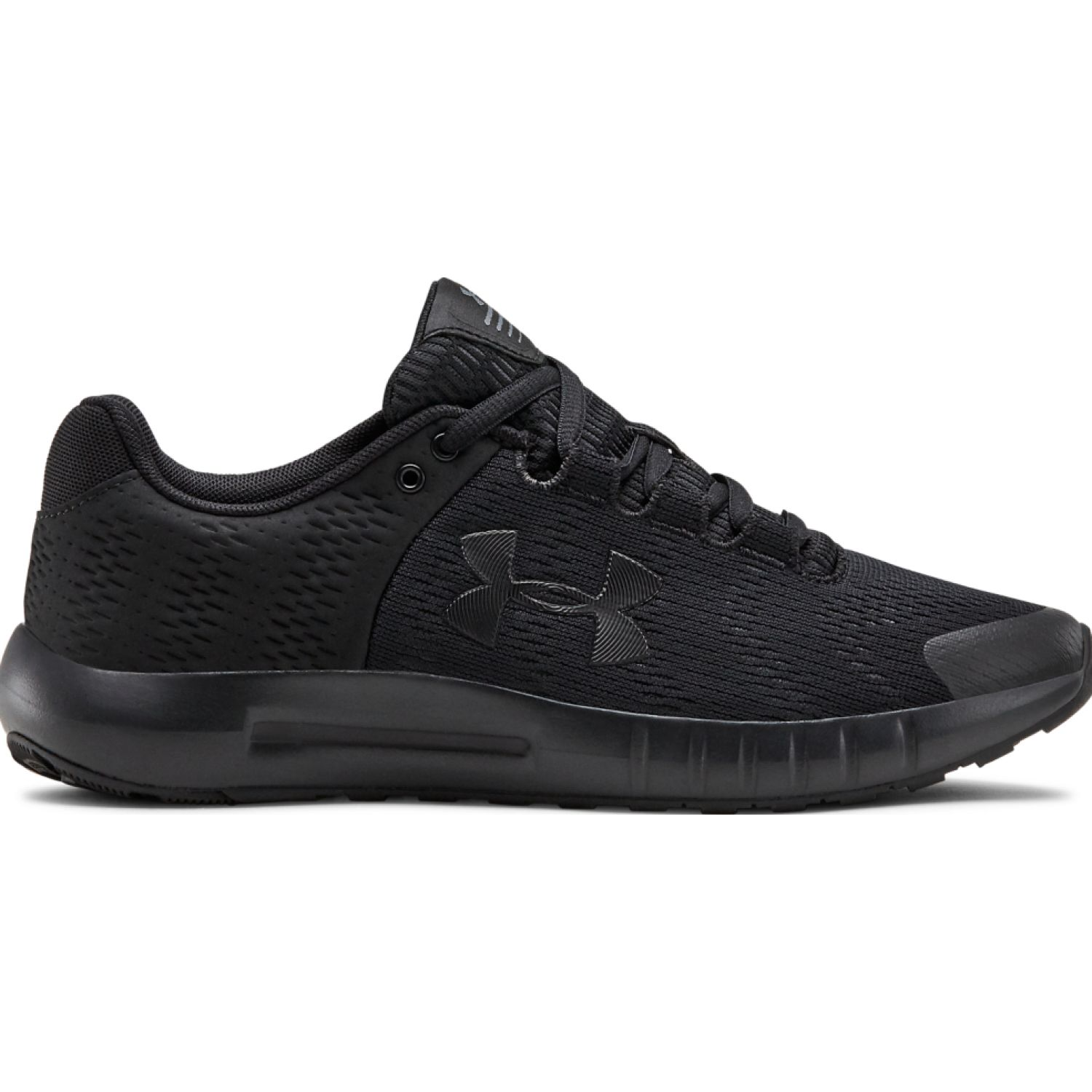 Under Armour UA W Micro G Pursuit BP Negro Running en pista