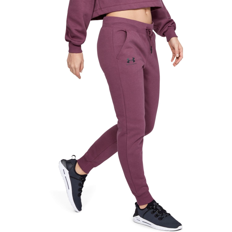 Under Armour Rival Fleece Sportstyle Graphic Pant Guinda Pantalones deportivos
