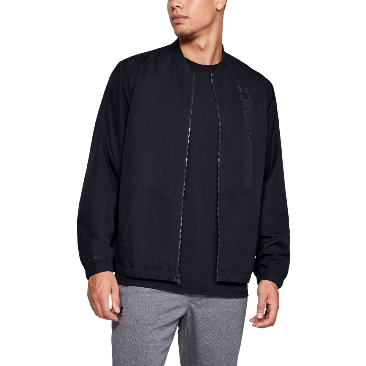 Under Armour Unstoppable Essential Bomber Negro Casacas deportivas