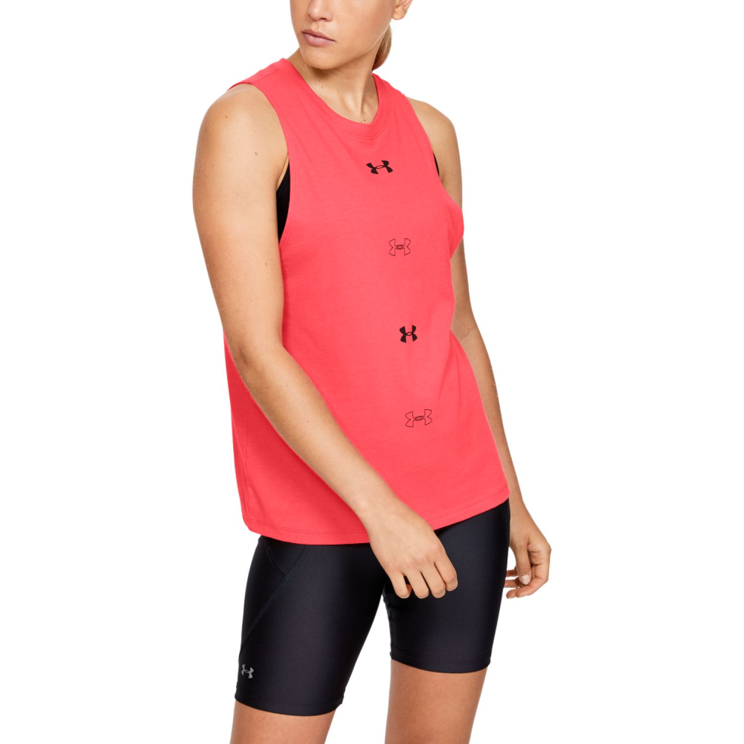 Under Armour UA Graphic Muscle SL 6M Rojo Tank Tops
