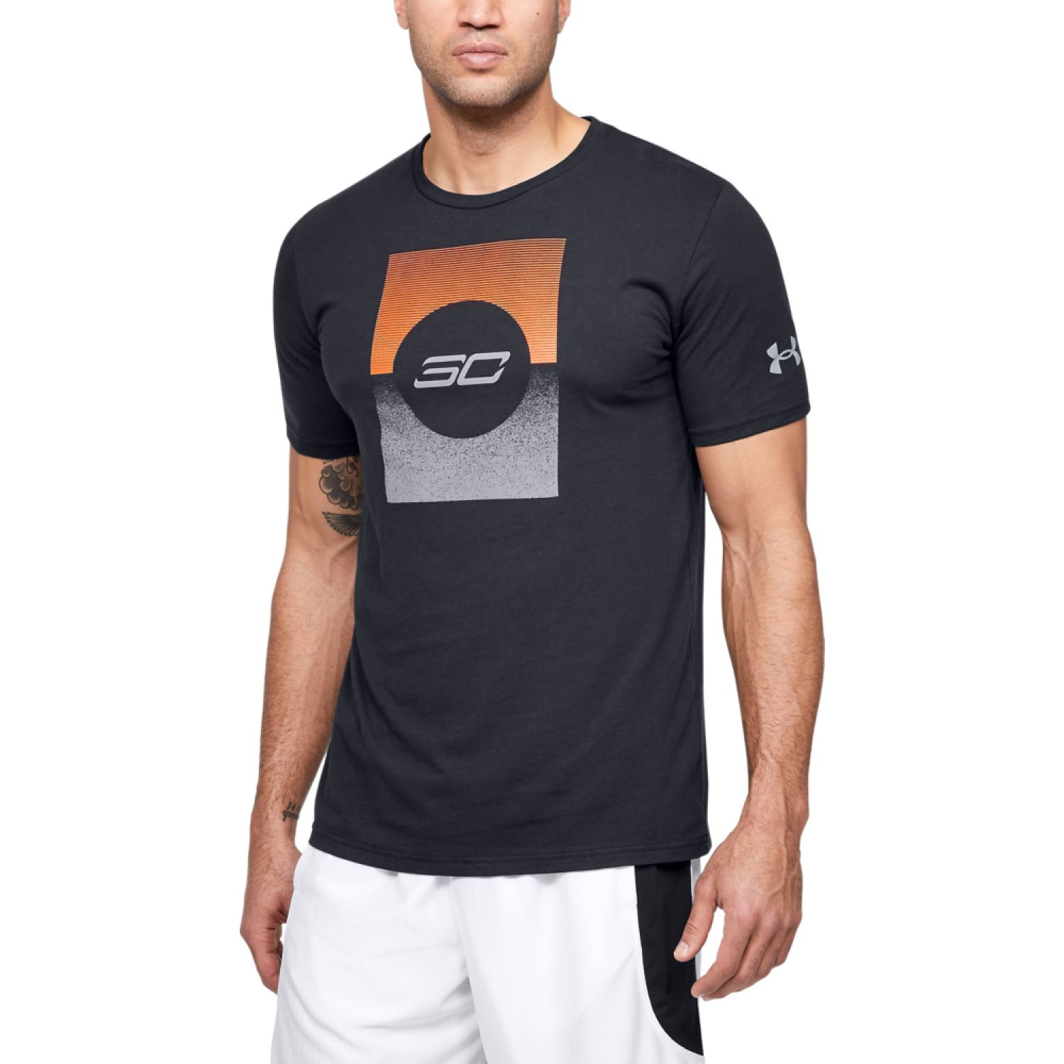 Under Armour Sc30 Gradient Graphic Tee Negro Camisetas y Polos Deportivos