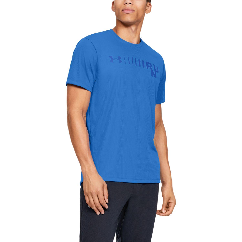 Under Armour Ua M Speed Stride Graphic Short Sleeve Azul Camisetas y polos deportivos