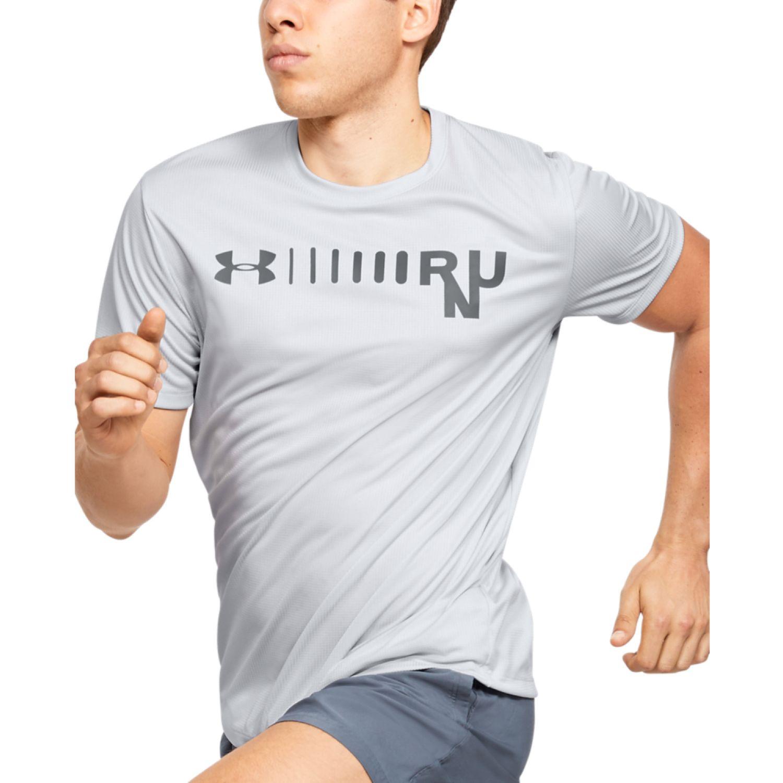 Under Armour Ua M Speed Stride Graphic Short Sleeve Plomo Camisetas y polos deportivos