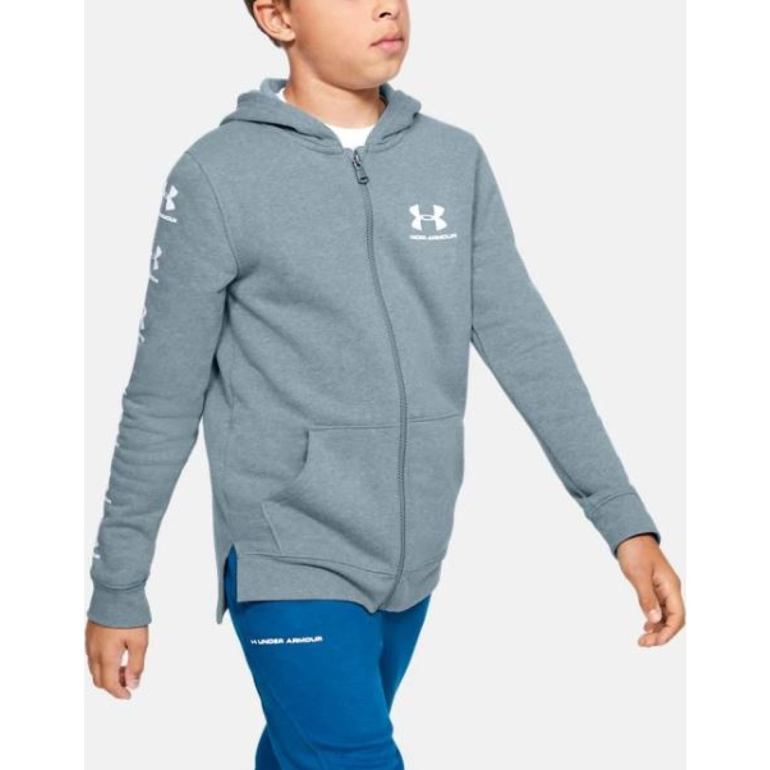 Under Armour Rival Full Zip Hoody Verde Hoodies Deportivos