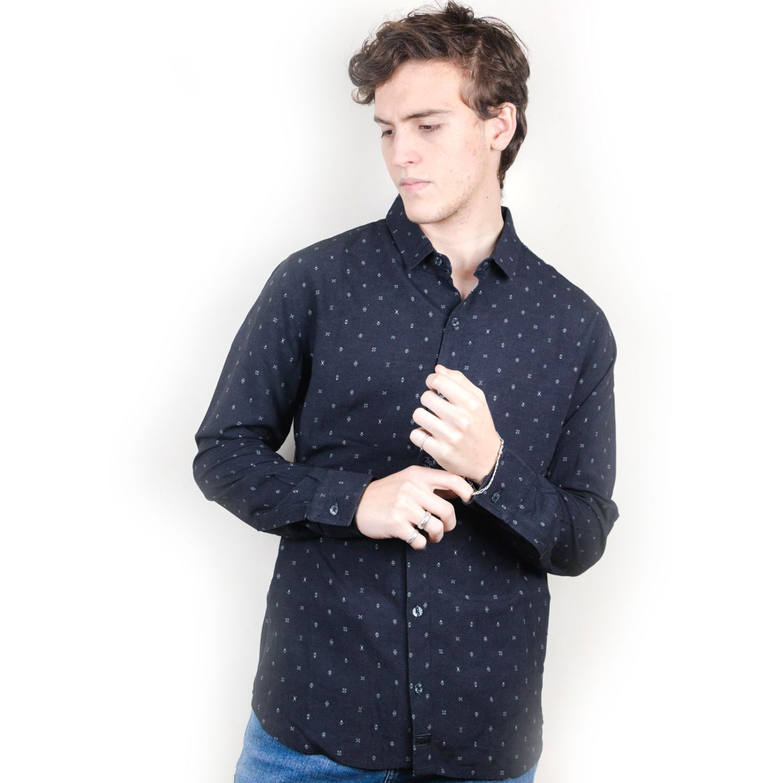 ROCK & RELIGION KAYSER Black Camisas de botones