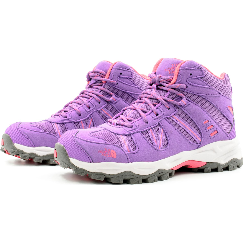 The North Face Jr Sakura Mid Morado Zapatos de senderismo