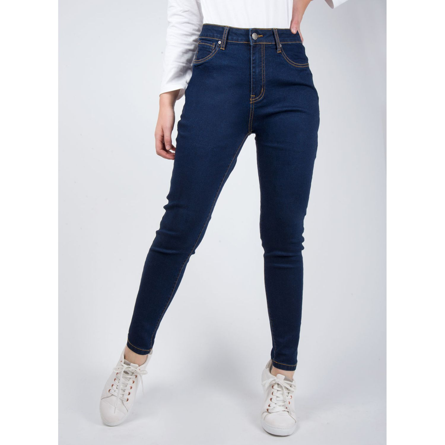 SISI JEGGINS CINTURA ALTA Denim Leggings
