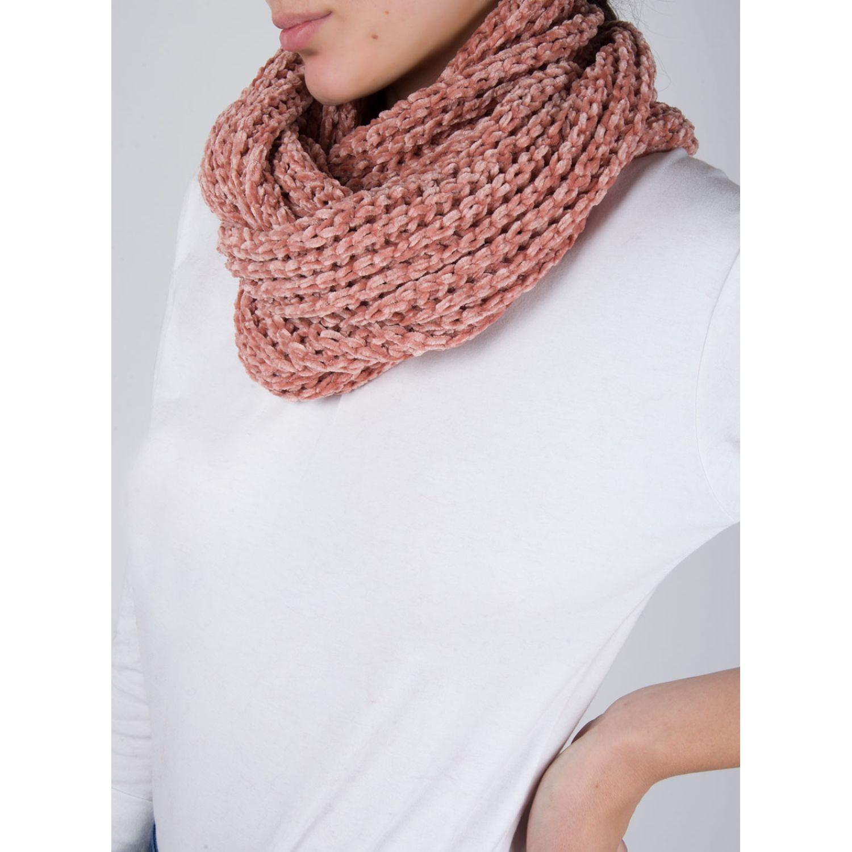 SISI Cuello Chenille Ladrillo Bufandas de moda