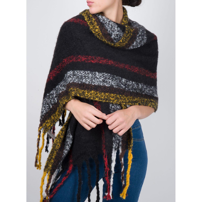 SISI Bufanda Annie Azul Bufandas de moda