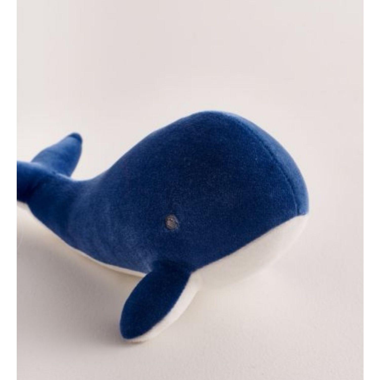 Babycottons Whale Celeste Animales de peluche y los osos de peluche