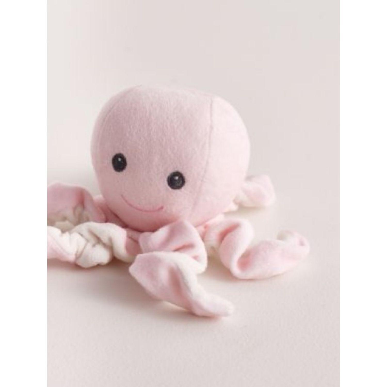 Babycottons Octopus Portachupete Girl Rosado Accesorios chupete