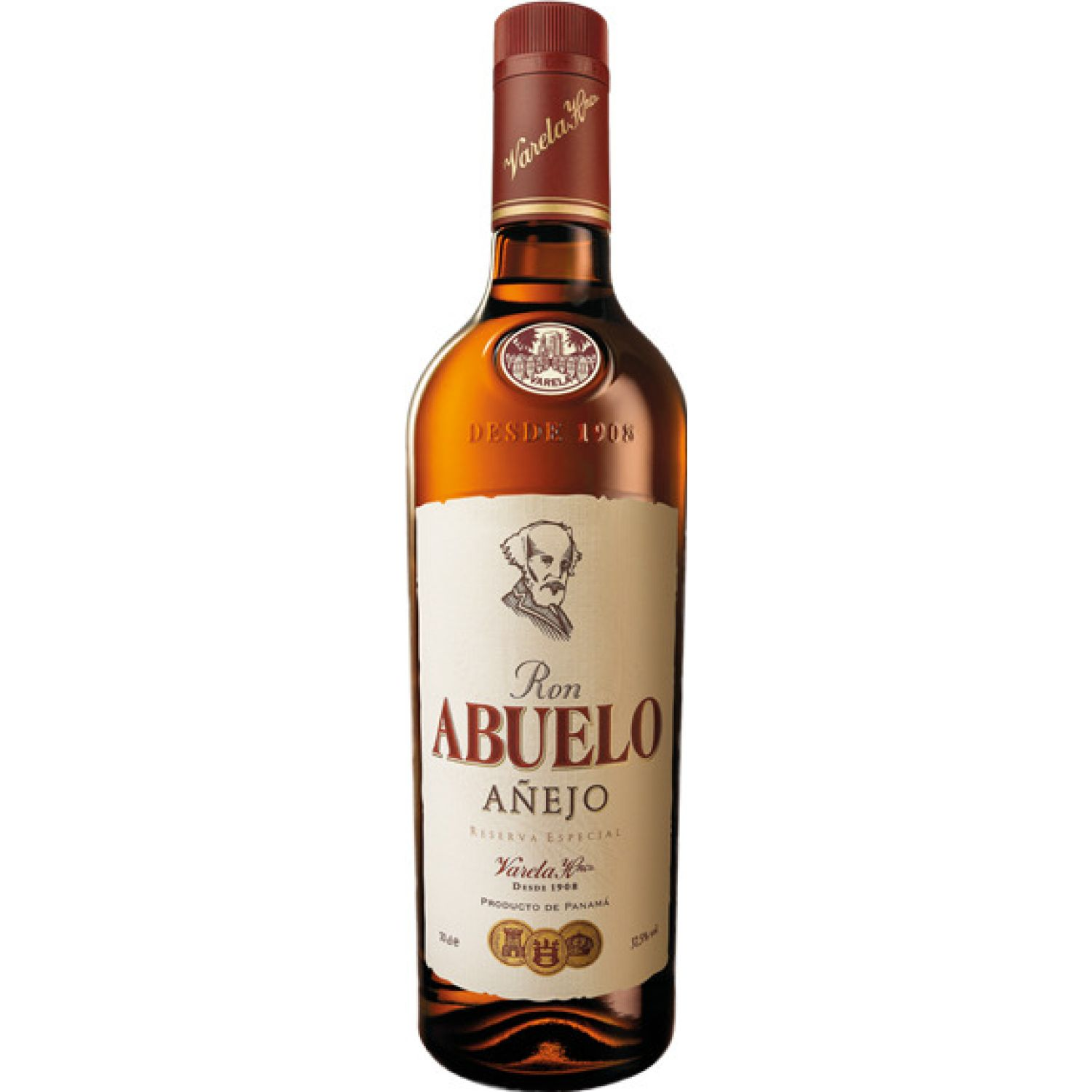 RON ABUELO RON AÑEJO X 750ML Sin color Ron