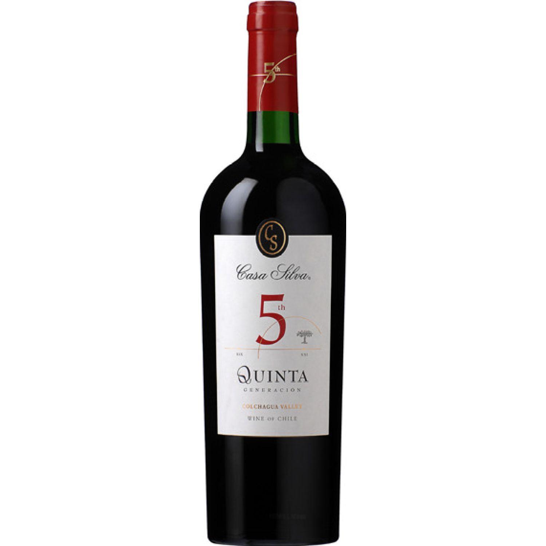 CASA SILVA Vino Quinta Generacion Red X 750ml Sin color Vino Tinto